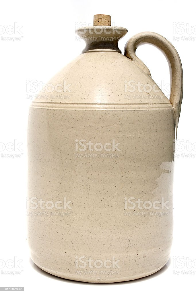 antique jug, classic retro, ready to brand royalty-free stock photo