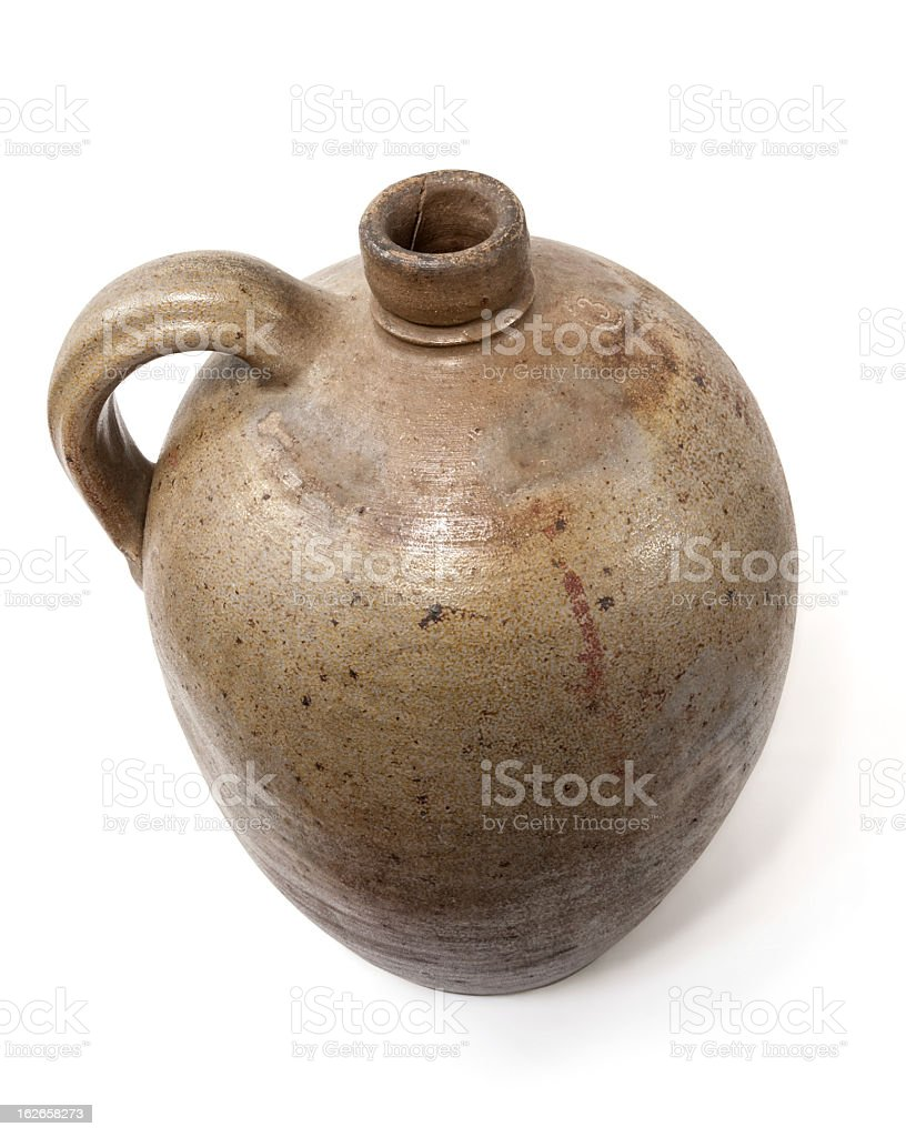 Antique jug royalty-free stock photo