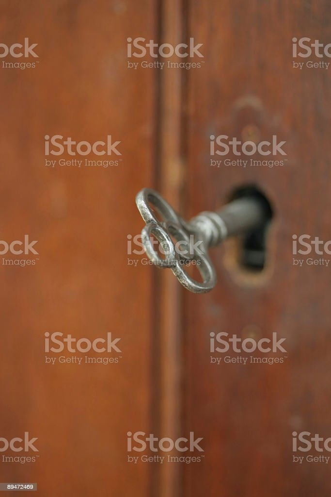 Античный ключ Стоковые фото Стоковая фотография