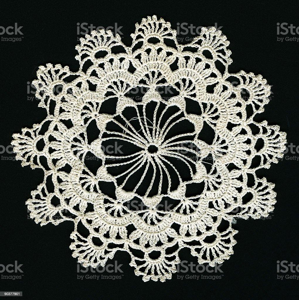 antique lace stock photo