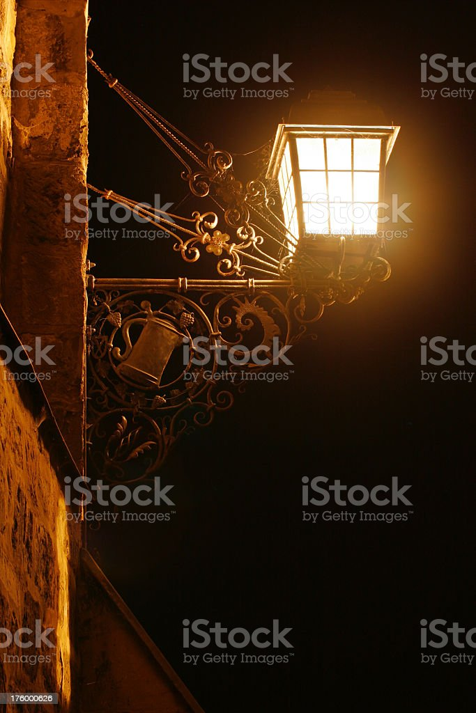 Antique Lantern royalty-free stock photo