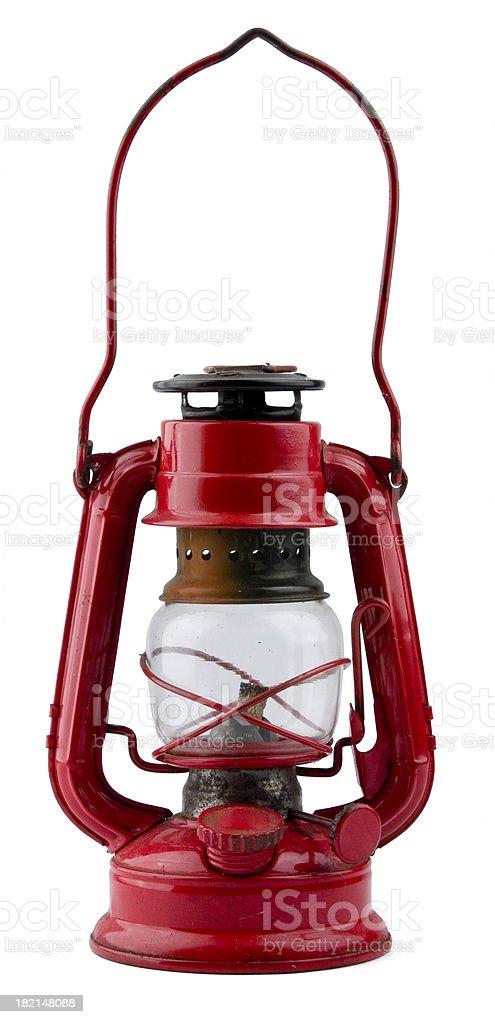 Antique lantern stock photo