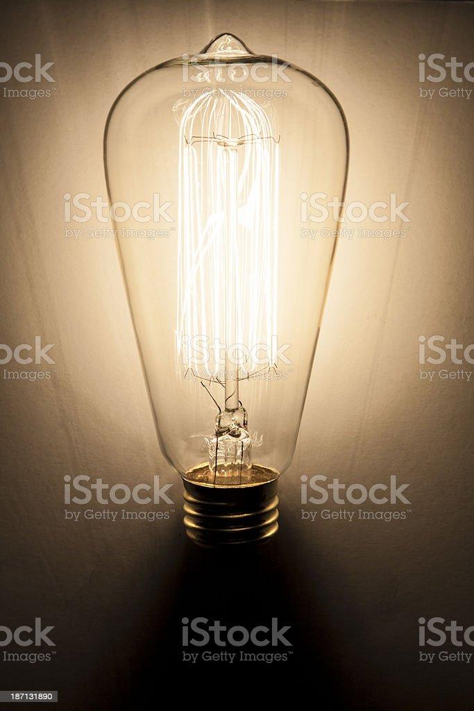 Antique Lightbulb royalty-free stock photo