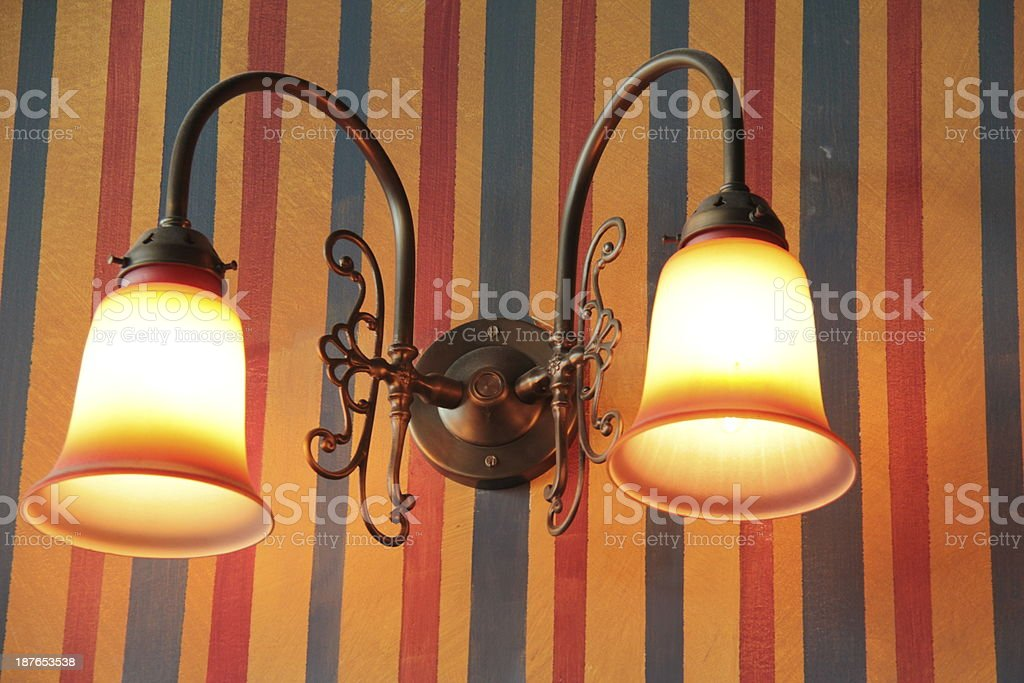 Antique Lights royalty-free stock photo