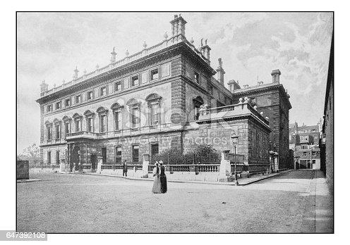 Antique London's photographs: Bridgewater House