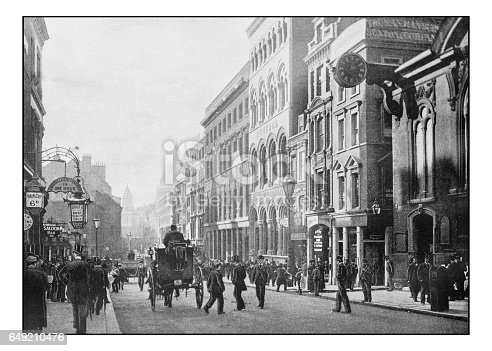 Antique London's photographs: Cannon Street