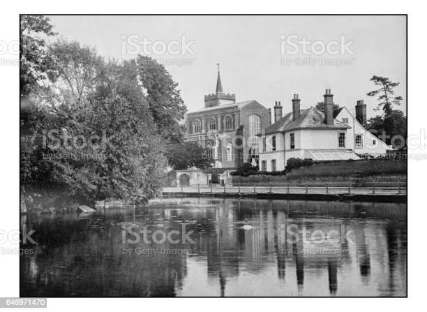 Antique London's photographs: Carshalton church