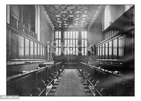 Antique London's photographs: Chapel royal, St James's