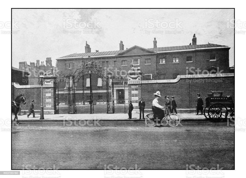Antike Londons Fotos: Devonshire House – Foto