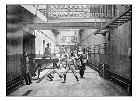 Antique London's photographs: Exeter Hall Gymnasium