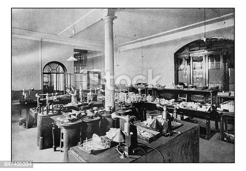 Antique London's photographs: Goldsmith Hall, The Assay Office