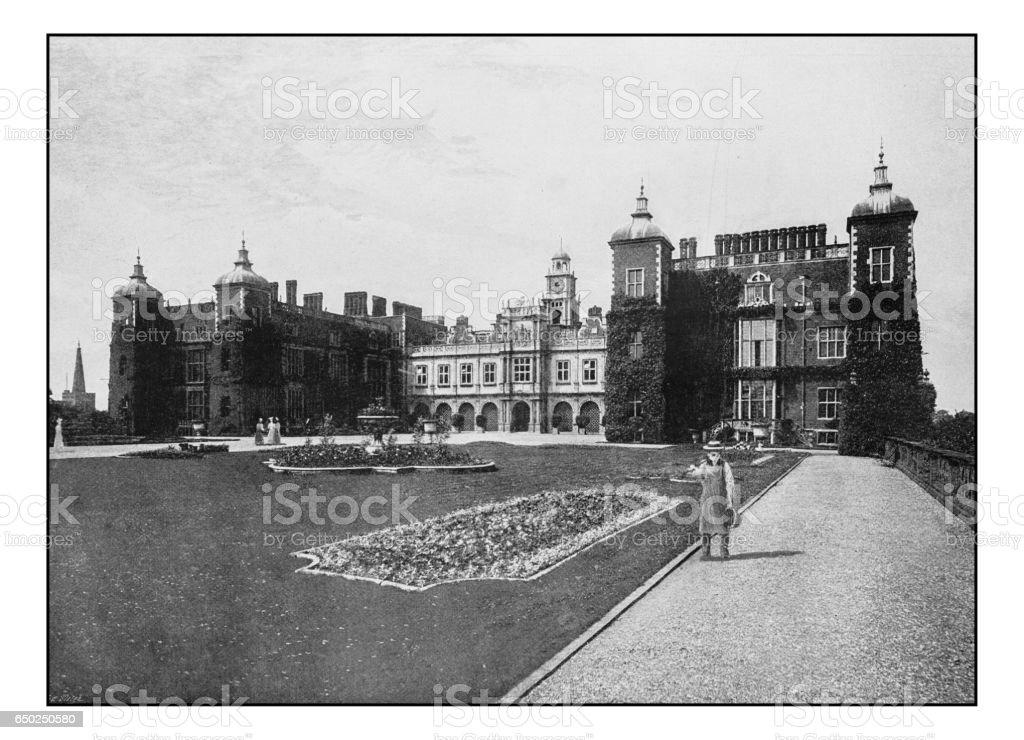 Antique London's photographs: Hatfield House stock photo