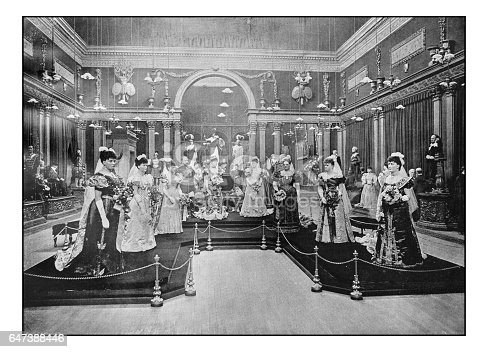 Antique London's photographs: Madame Tussaud's