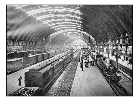 Antique London's photographs: Paddington Station