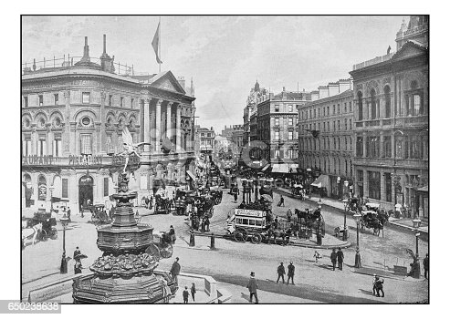 Antique London's photographs: Piccadilly Circus