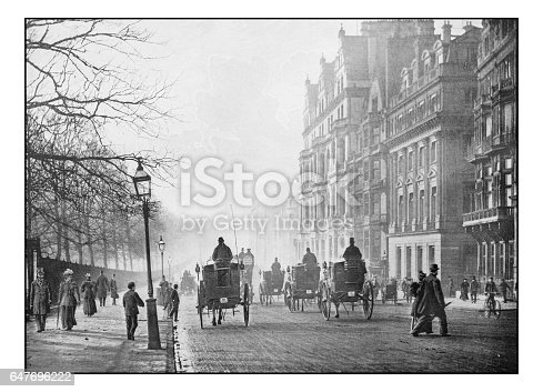 Antique London's photographs: Piccadilly