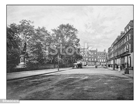 istock Antique London's photographs: Russel Square 649695926