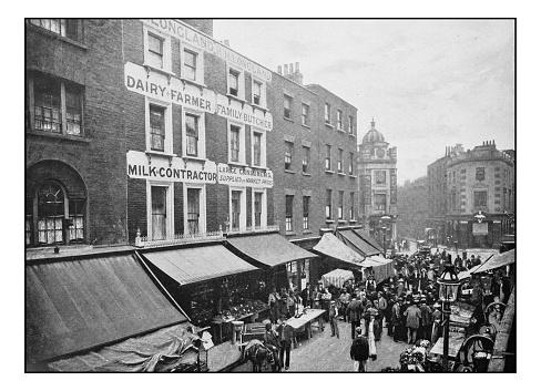 Antique London's photographs: Seven Dials