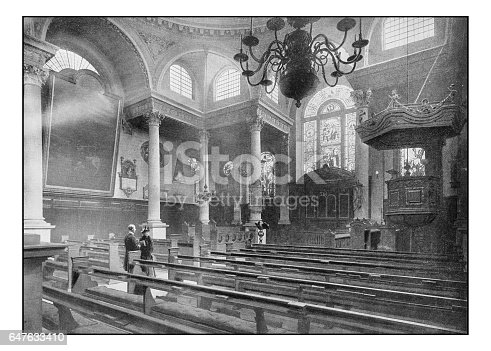 Antique London's photographs: St Stephen's, Walbrook