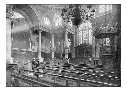 Antique London's photographs: St Stephen's, Walbrook