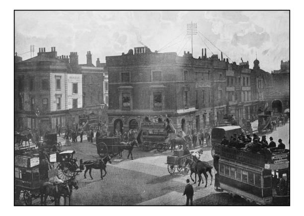 古色古香的倫敦的照片: 沃爾沃思道 - 火車車廂 個照片及圖片檔