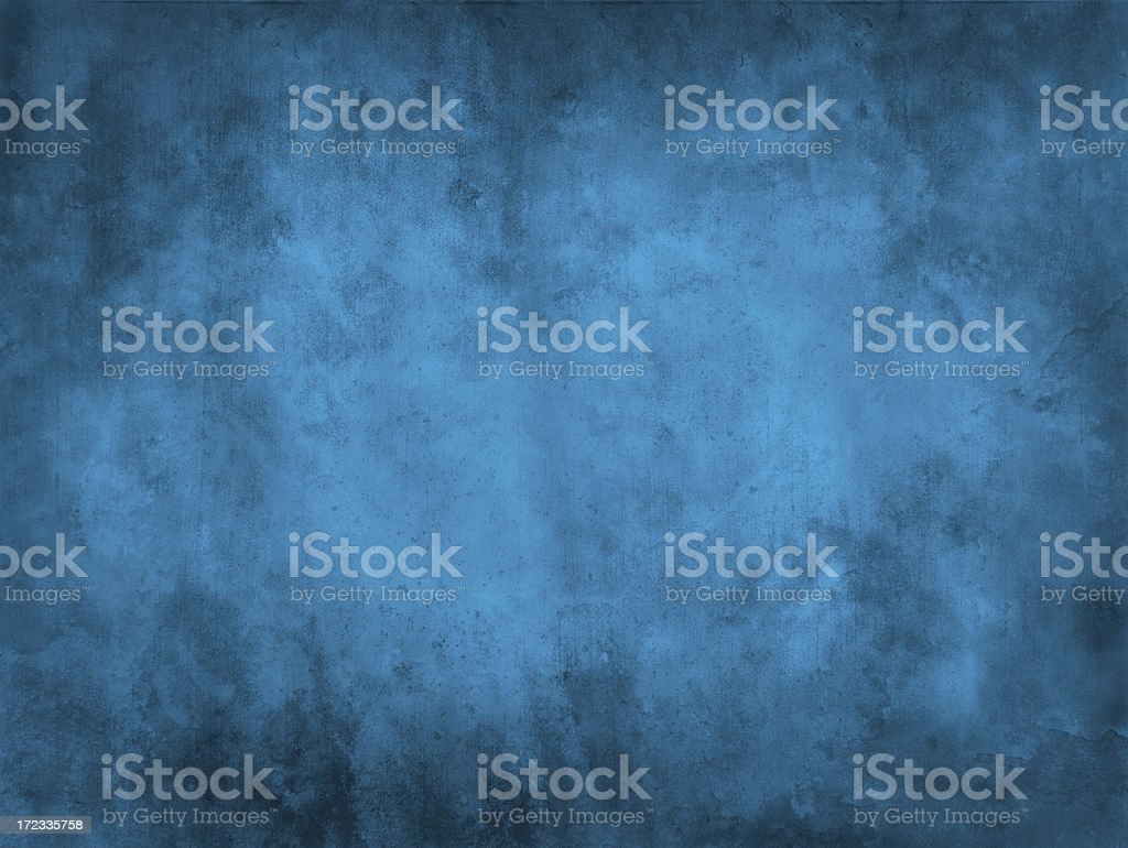 Antique looking background with different shades of blue stock photo