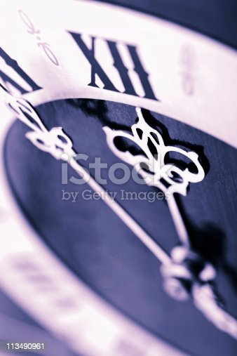 istock antique looking clock dial showing time about twelve 113490961