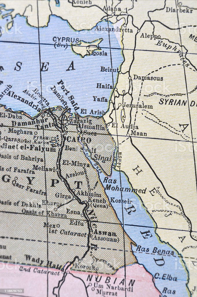 Antique Map Cairo Stock Photo & More Pictures of Antique ... on tyre map, beirut on a map, sanaa map, persia map, jordan map, constantinople map, aleppo map, euphrates river map, medina map, syria map, canaan map, mecca map, ankara map, sinai peninsula map, iraq map, muscat map, amman map, jerusalem map, libya map, belgrade map,