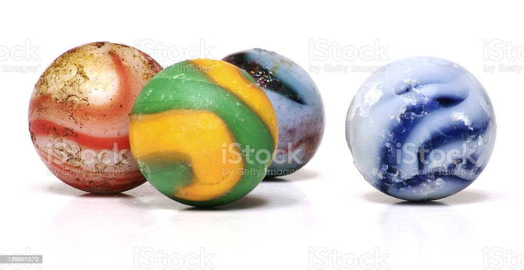 Antique Marbles royalty-free stock photo