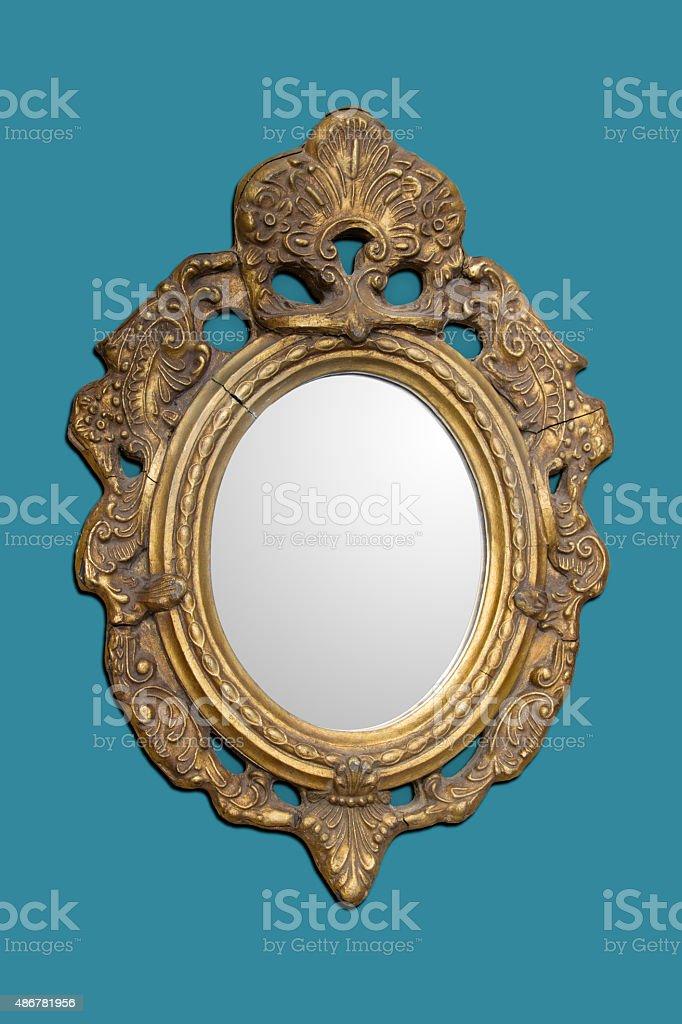 Antique Mirror stock photo
