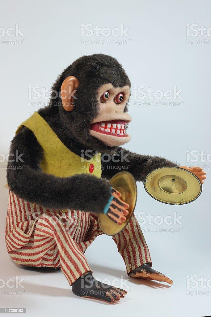 antique monkey royalty-free stock photo