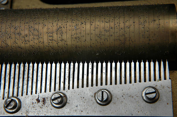 Antique Music Box stock photo