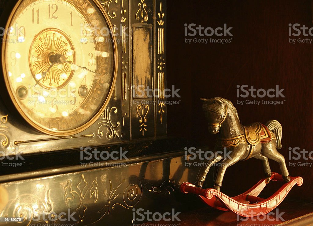 Antique objects stock photo