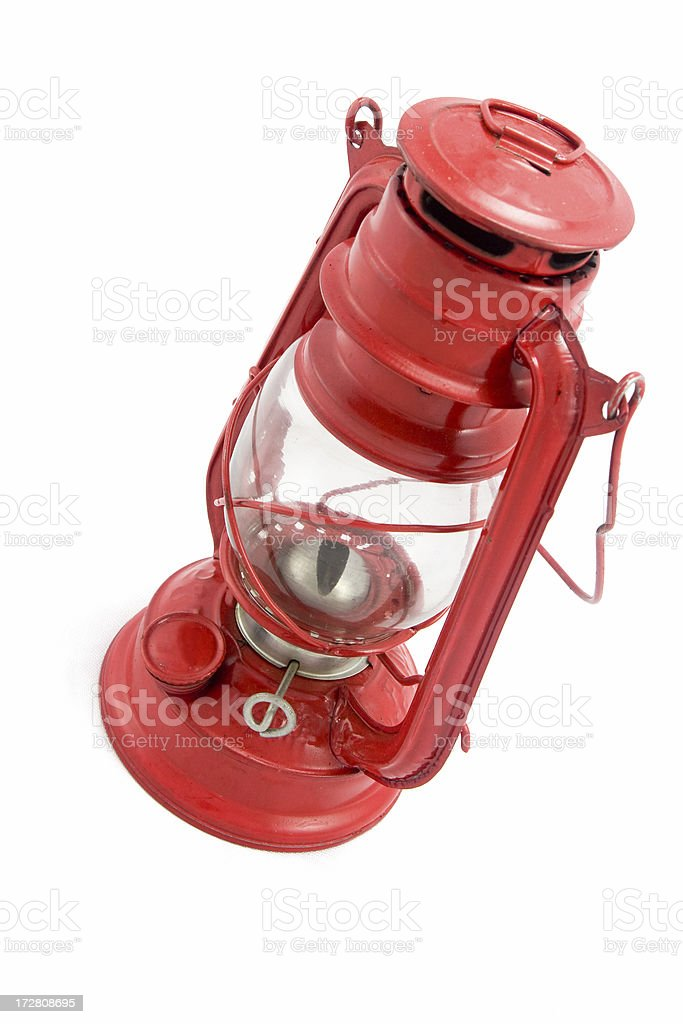 Antique oil lamp royalty-free stock photo