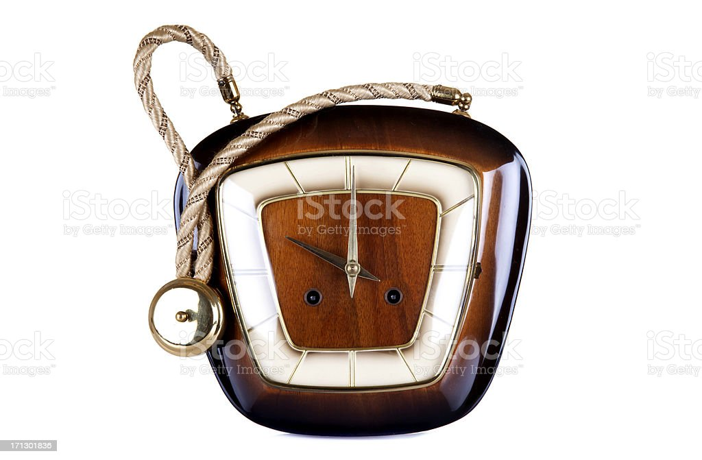 antique old clock royalty-free stock photo