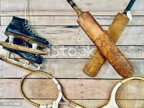 Antique Old Style Sports Collection