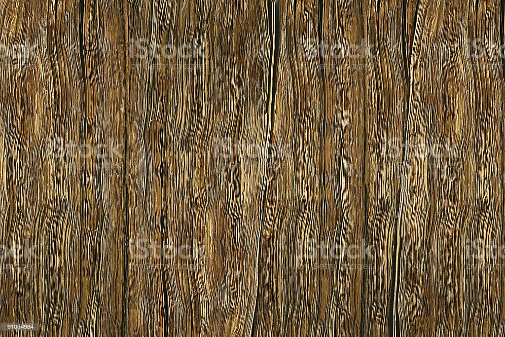 Antique page edges for background royalty-free stock photo