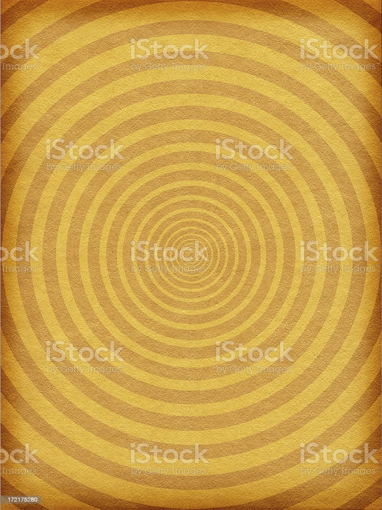 Antique Paper Background with Circle Pattern royalty-free stock photo