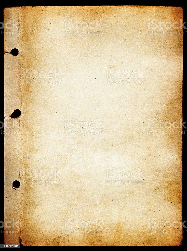 Antique paper texture stock photo