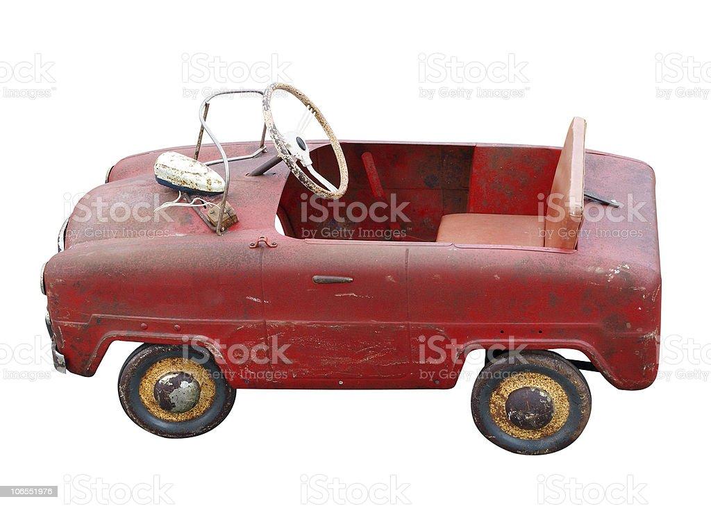 Antique Pedal Car stock photo
