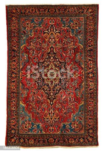 Antique Persian Sarouk Area Rug Stock Photo Amp More