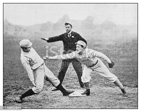 Antique photo: Baseball