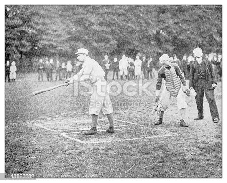 Antique photo: Baseball
