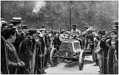 istock Antique photo: Car race 1186342508