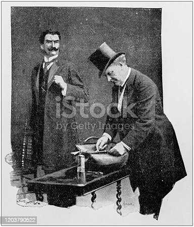 Antique photo: Doctor