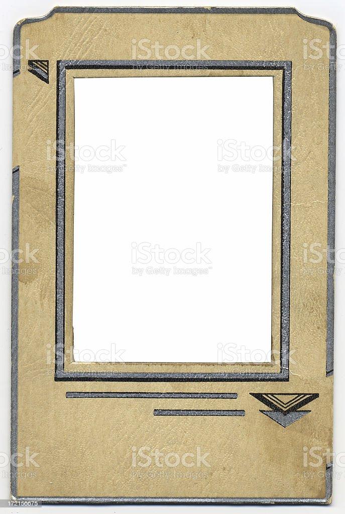 Antique Photo Frame, c. 1920 royalty-free stock photo