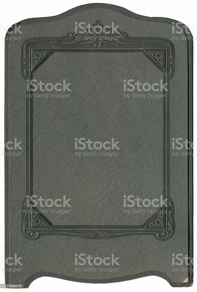 Antique Photo Frame stock photo