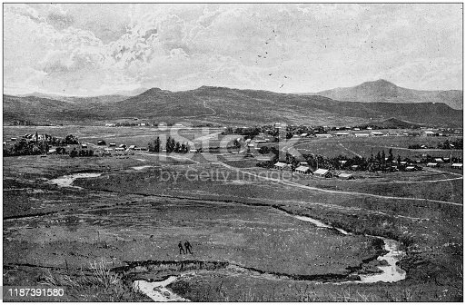 Antique photo: South Africa, Estcourt