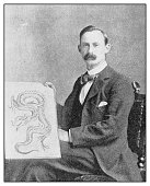 Antique photo: Sutherland McDonald, Tattooer