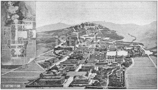 Antique photo: University of California